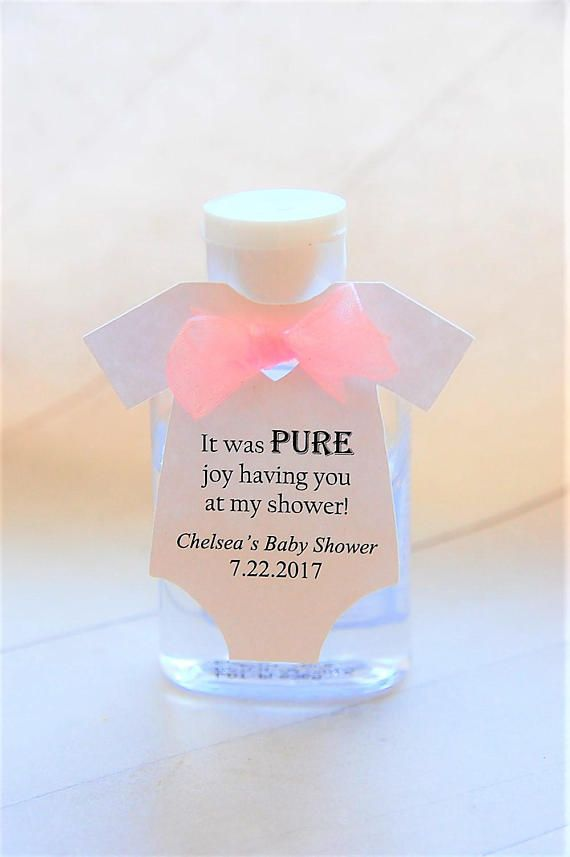Throwing A Baby Shower Give A Cute Little Hand Sanitizer As Party