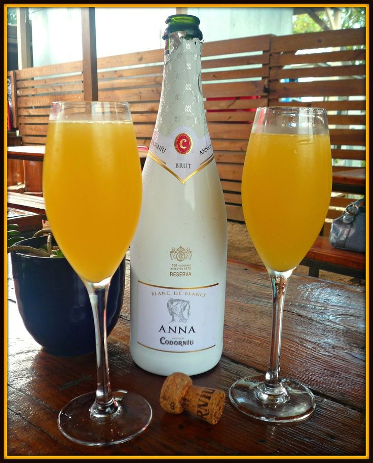Anna de Codorníu Mimosa Brunch at Grayze on Grayson St. in San Antonio!