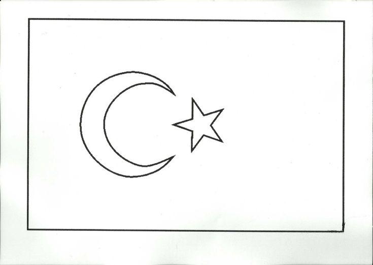 Kıbrıs Bayrağı Boyama Resimlere Göre Ara Red