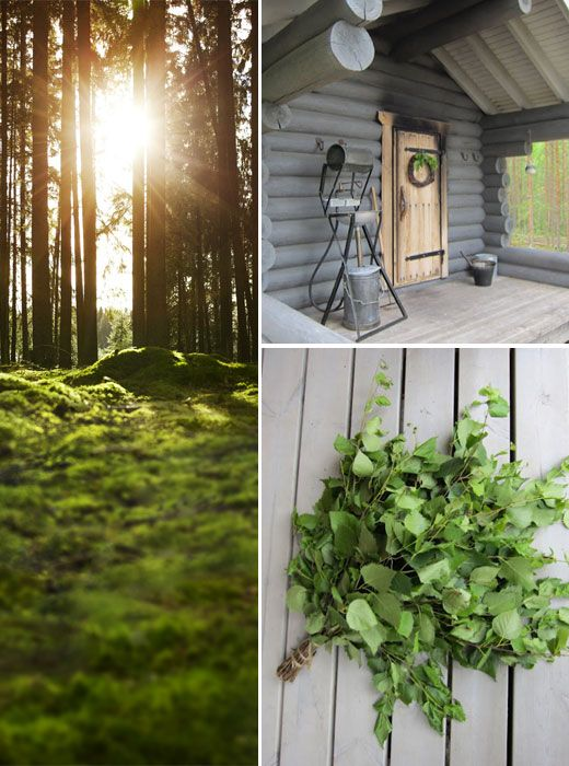 #Sauna. This captures very nicely the mood of sauna time on an summer evening in Finland.