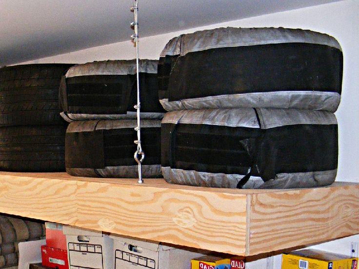 Garage Storage Overhead Platform Woodworking Projects
