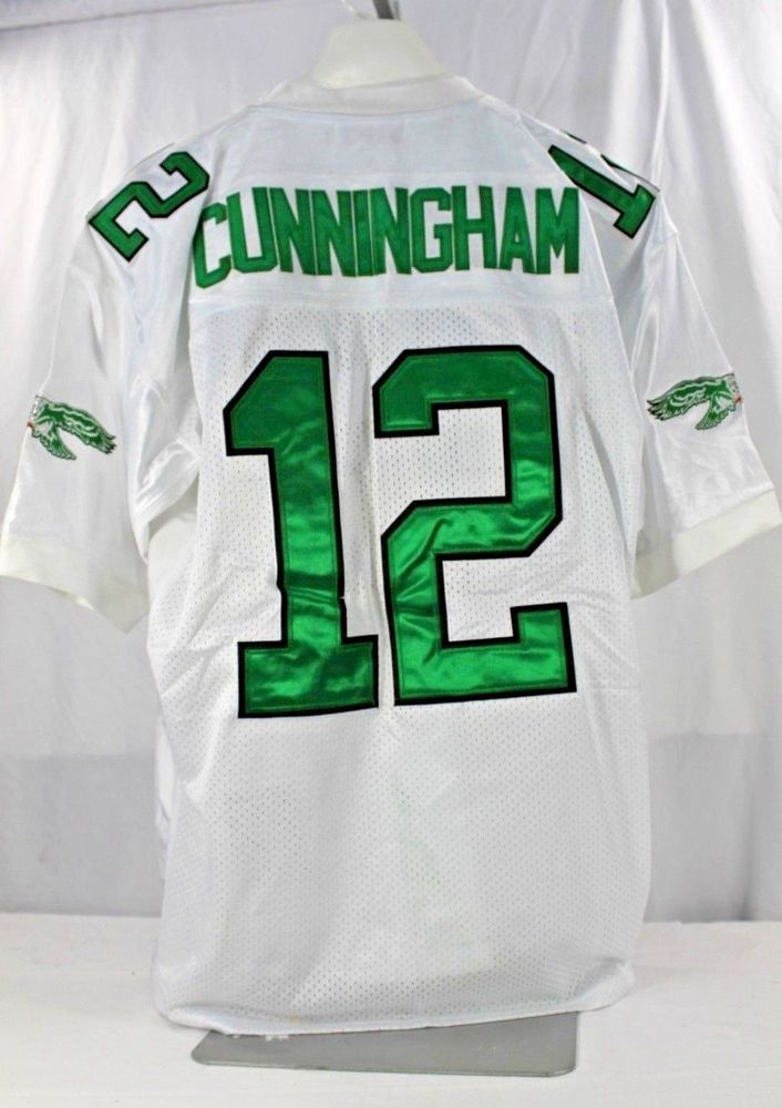 2ee3b18bc Philadelphia Eagles Randall Cunningham  12 White Jersey 1992 Mitchell    Ness 52  MitchellNess  PhiladelphiaEagles