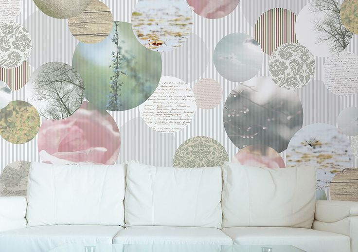 Natural High: Carta da parati Pop // Pop Wall Covering by Glamora
