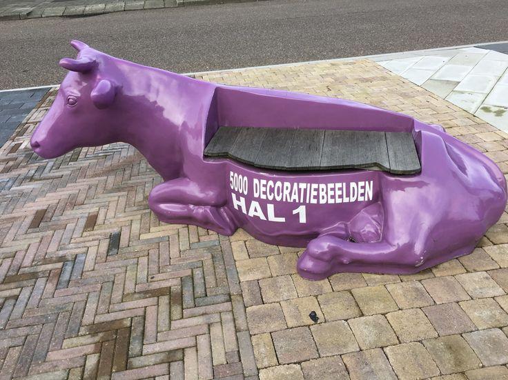 Art cow in Beverwijk