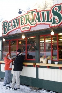 BeaverTails - yummy Canadian tradition in our national capital of Ottawa
