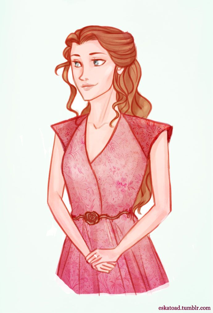margaery Tyrell by Eskatoad on tumblr