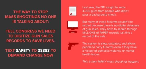 This could stop gun violence  Please help to make a change