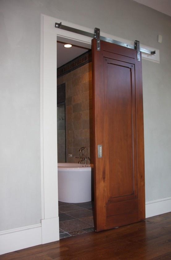 Barn doors install diy home crafting decor and - Installing sliding doors interior ...