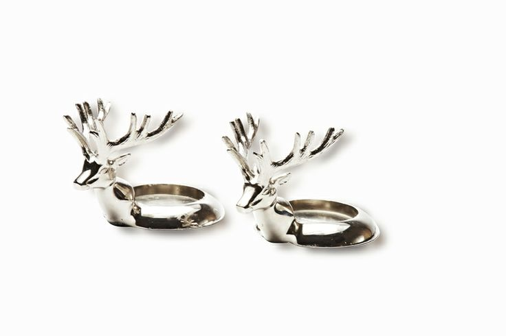 USE these little Florence Design deers for everything, wine presenter, candel holder ...
