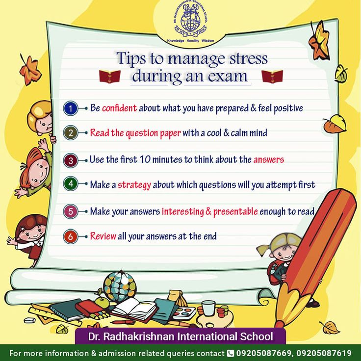 As Students draw closer to exams, students tend to get exam anxiety OR exam blues. It always seems impossible until you have got it done. Follow these basic tips to perform better during an exam. #DrRadhakrishnanInternationalSchool #BoardExam2017 #ExamTime #StudentLife
