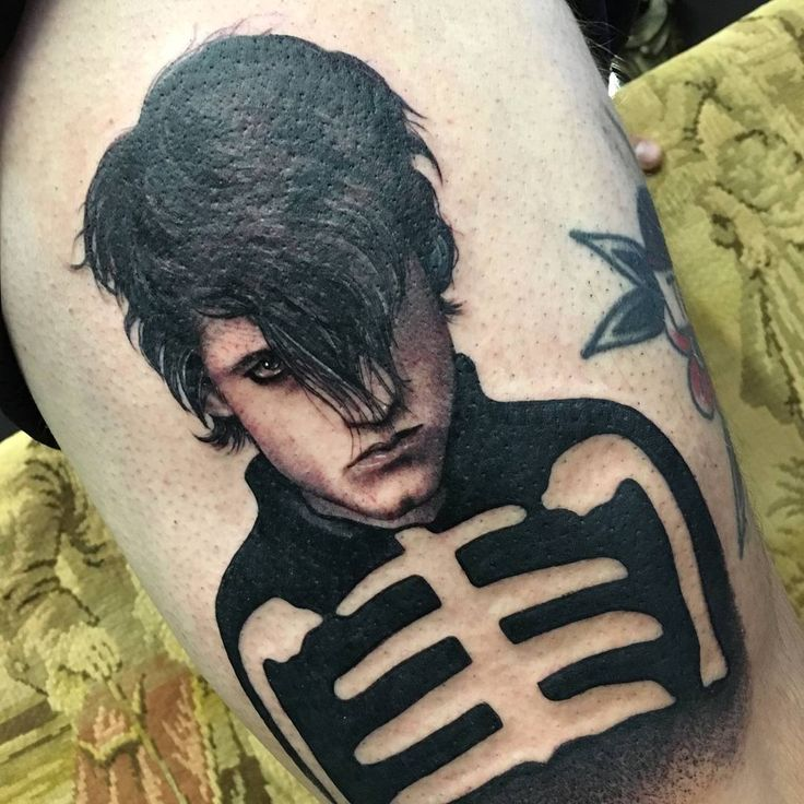 One of the best Danzig/Misfits tattoos I've seen ever! #danzig #misfits #tattoo