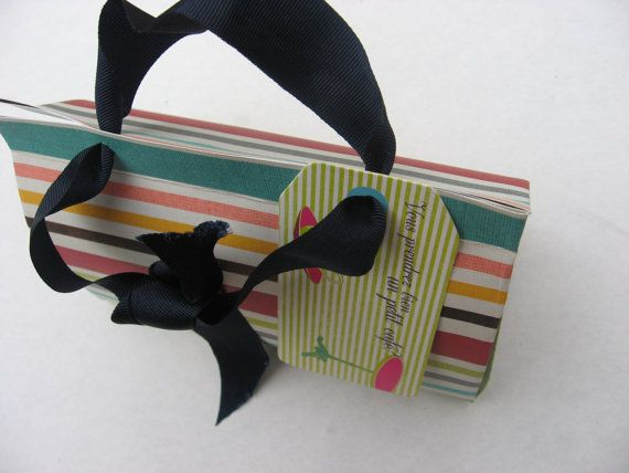 All our gift packaging is individual, unique and made by hand. We design our handmade packaging around the item, matching colours, design and concept. We offer many designs from handbag to travel journal, simple envelope to origami parcel.. @PumpjackPiddlewick on Etsy