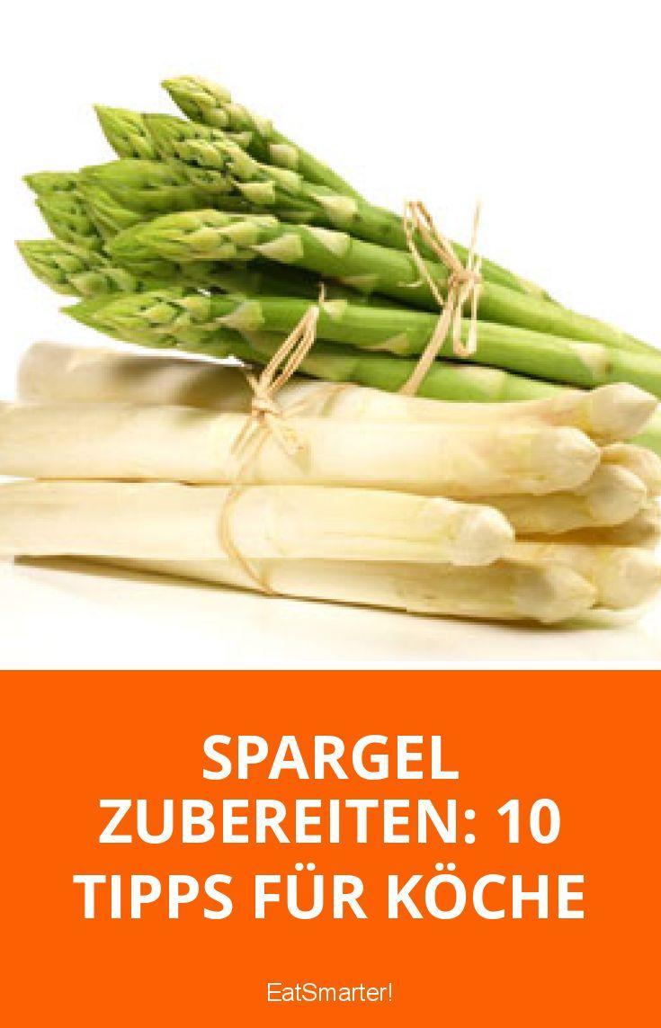 Spargel zubereiten: 10 Tipps für Spargelköche | eatsmarter.de