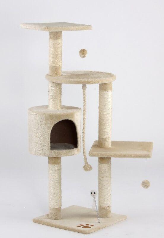 Árbol para gatos Katy beige  _0