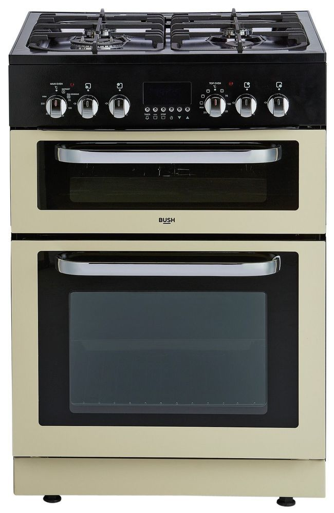 Bush BDFDXS60C Dual Fuel Cooker - Cream. From the Official Argos Shop on ebay