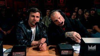 Lucha Underground - Matt Striker and Vampiro - The BEST announce team since just about FOREVER!