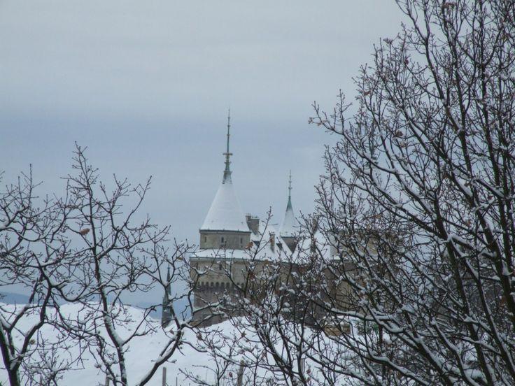 Last weekend castle - snowy romantic - #Bojnice #castle, #Slovakia - just ideal #venue for your #fairytale #wedding.