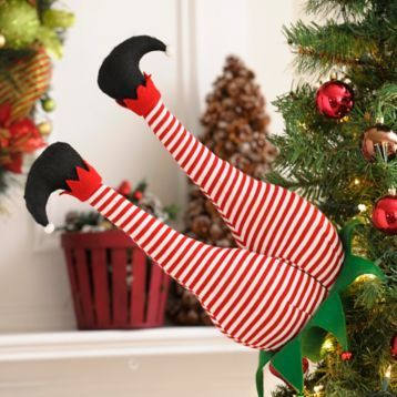 Have some fun this Christmas with the Elf Bottom Pick! #Kirklands #HollyJolly #holidaydecor #KirklandsHoliday