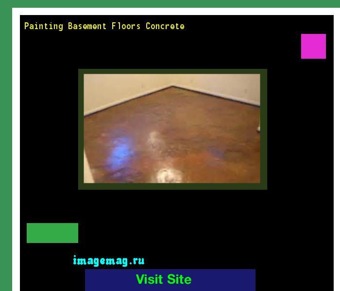 Painting Basement Floors Concrete 170324 - The Best Image Search