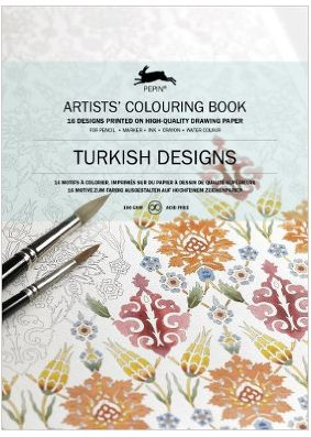 Pepin Press Colouring Book - Turkish Designs