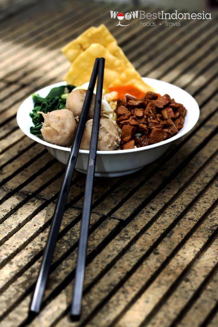 Mie Ayam Best Indonesian Cuisine #Jakarta #Indonesia #Food