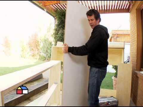 ▶ ¿Cómo construir un escritorio con cama plegable? - YouTube
