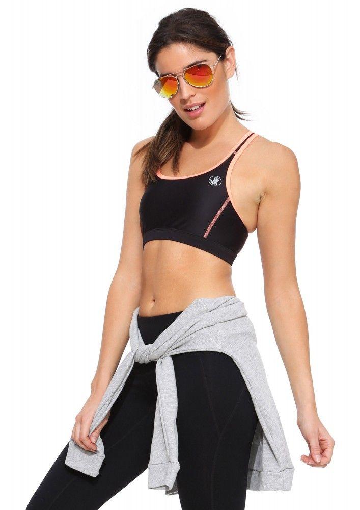 Breathe By Body Glove Sports Bra in Black | Necessary Clothing