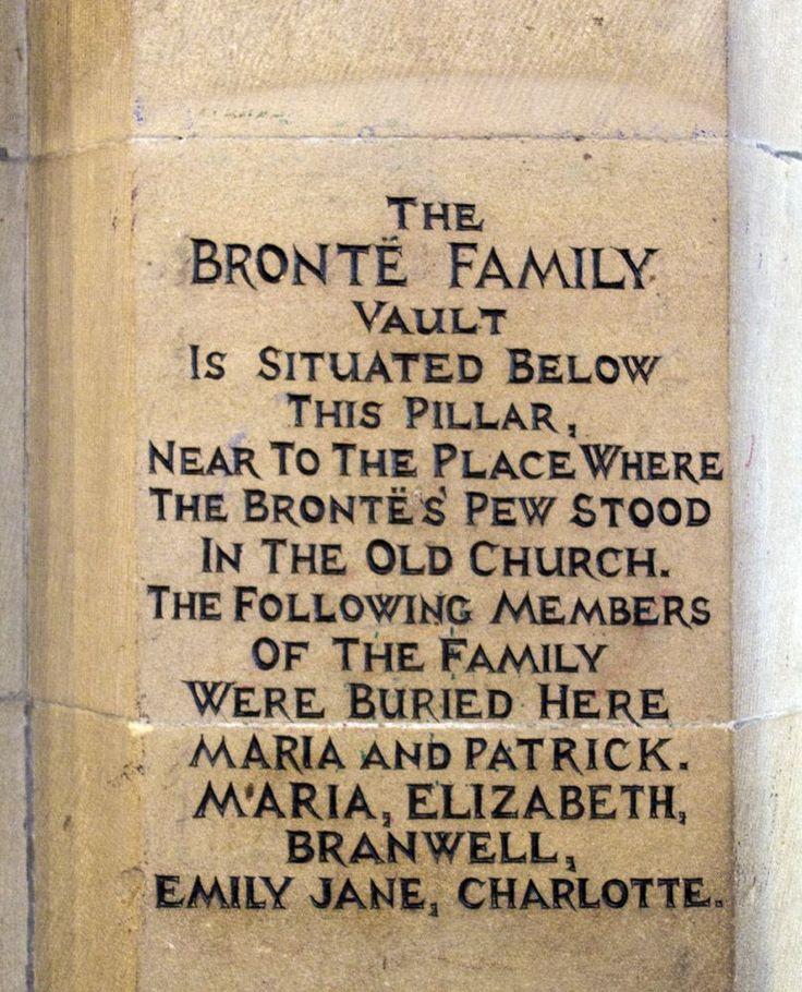 Bronte vault Haworth, Yorkshire,