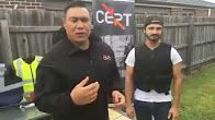 Paul Fong assesses the damage from his previous extraordinary PPSS Stab Resistant Vest Test Video