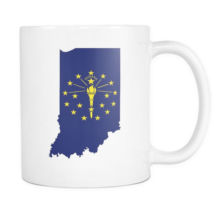 Indiana Flag 11oz Mug
