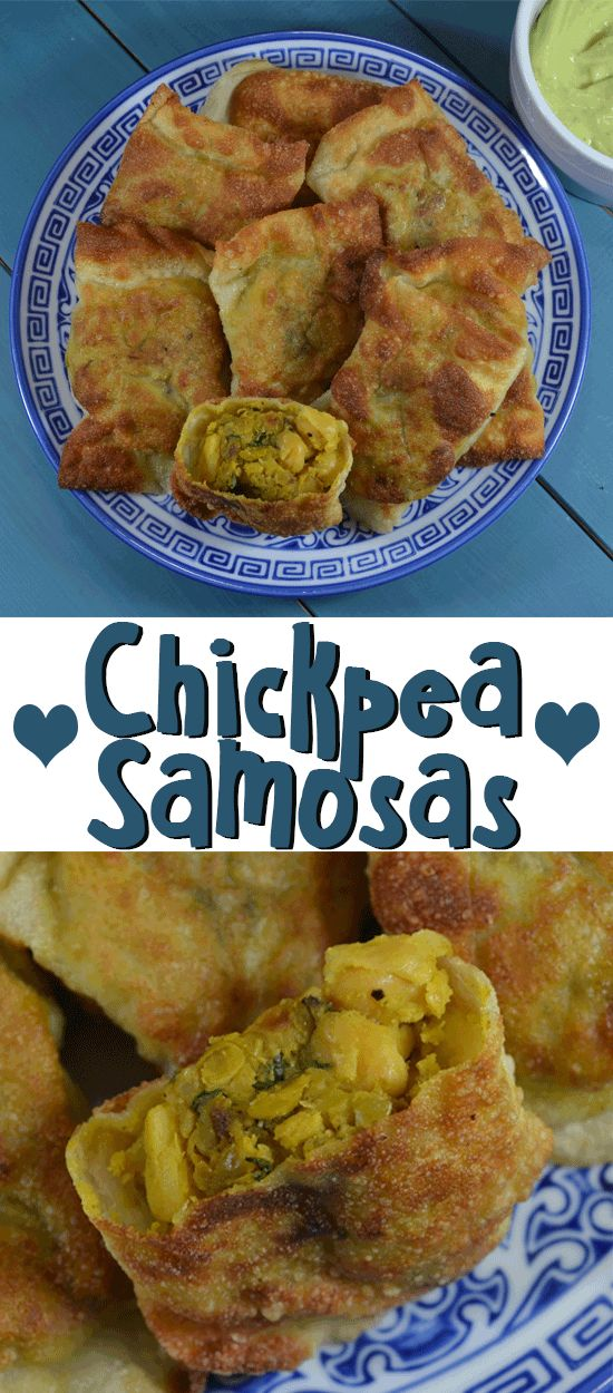 todayimight.com | Curried Chickpea Samosas Recipe