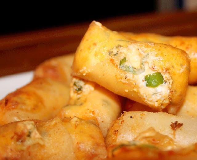 Crispy Cheesy Asian Rangoon's (no seafood)