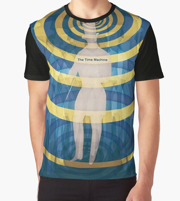 """The Time Machine - H. G. Wells"" Graphic T-Shirts by RedHillPrints - Redbubble 