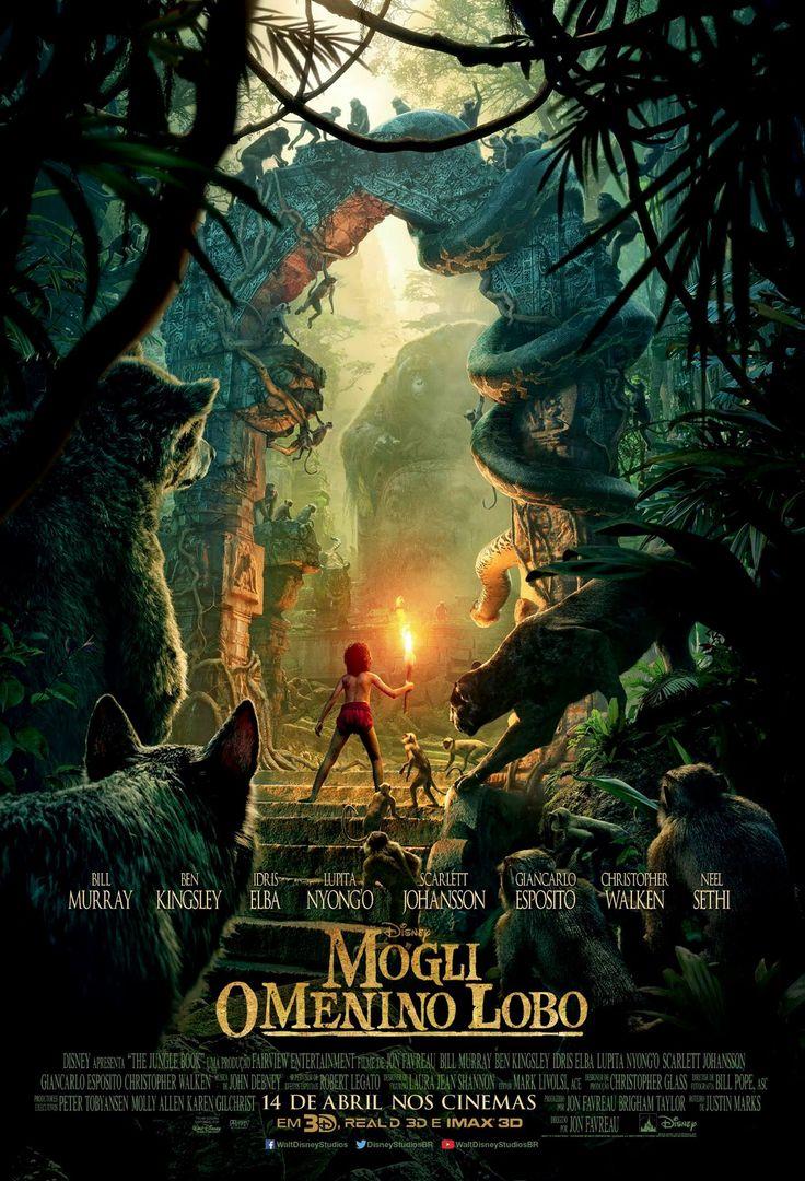 Um filme de Jon Favreau. A trama gira em torno do jovem Mogli (Neel Sethi), garoto de origem indiana que foi criado por lobos em pela selva, contando apenas com a companhia de um urso e uma pantera negra. Baseado na série literária deRudya...