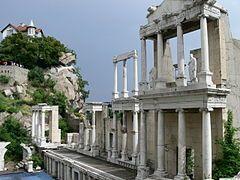 Plovdiv Roman theatre - Wikipedia, the free encyclopedia
