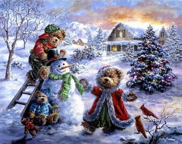 126 best art of nicky boehme images on Pinterest | Paintings ...