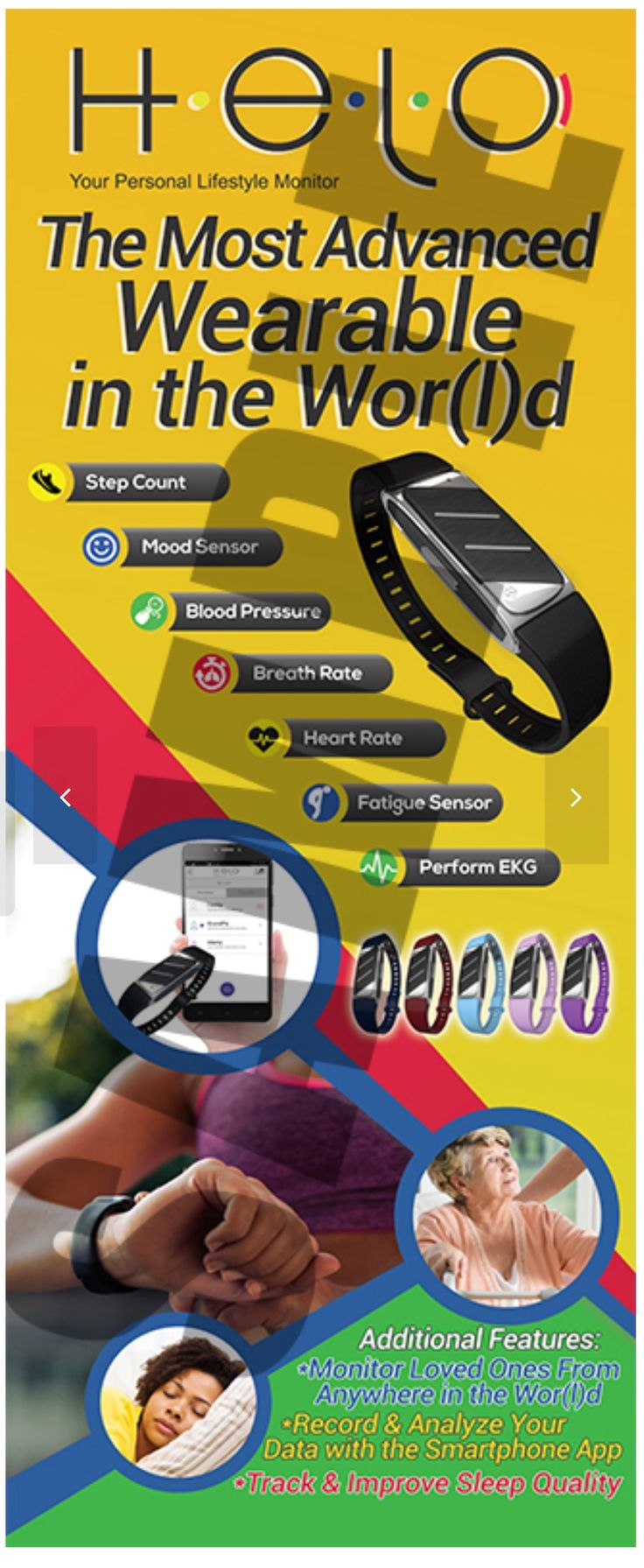 This is the newest in wearable technology....a category creating product.  There is no comparable product on the market today! ....and there is a business opportunity attached.  www.fitscanner.helo.life