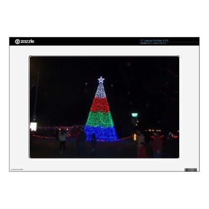 #Christmas Tree Laptop Decal - #xmas #christmas #christmastime #celebration #kids #children #family #parents #gift #gifts #present #presents