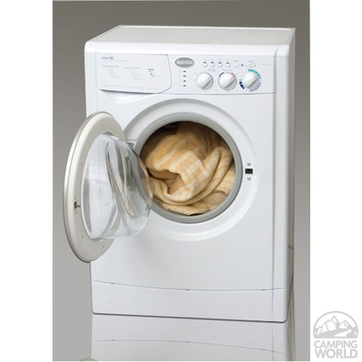 Splendide 2100XC Washer Dryer Combo - White - Westland WD2100XC - Washer & Dryer Combos - Camping World