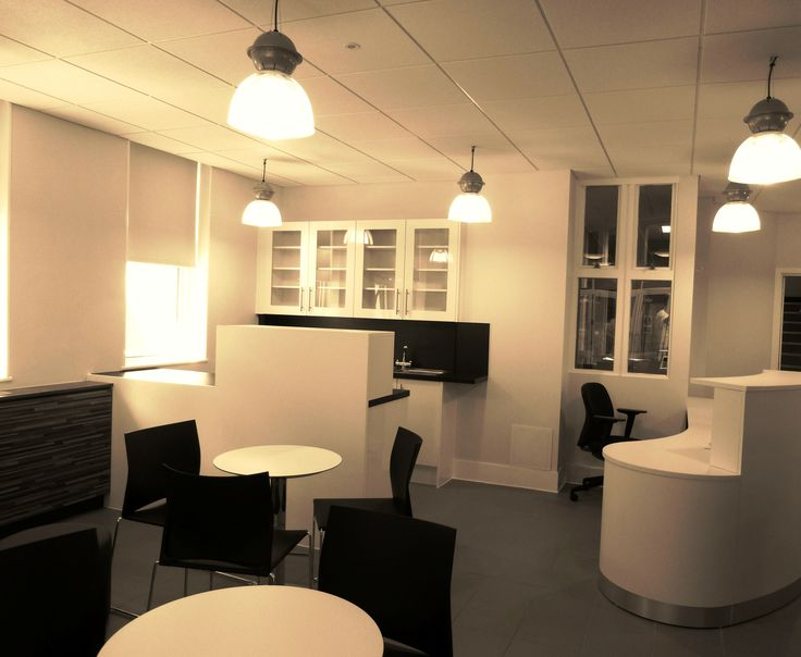 Black and white kitchen space for an entrepreneurs' college space   Peter Jones Enterprise Academy - Broadstairs, Kent  www.rapinteriors.co.uk