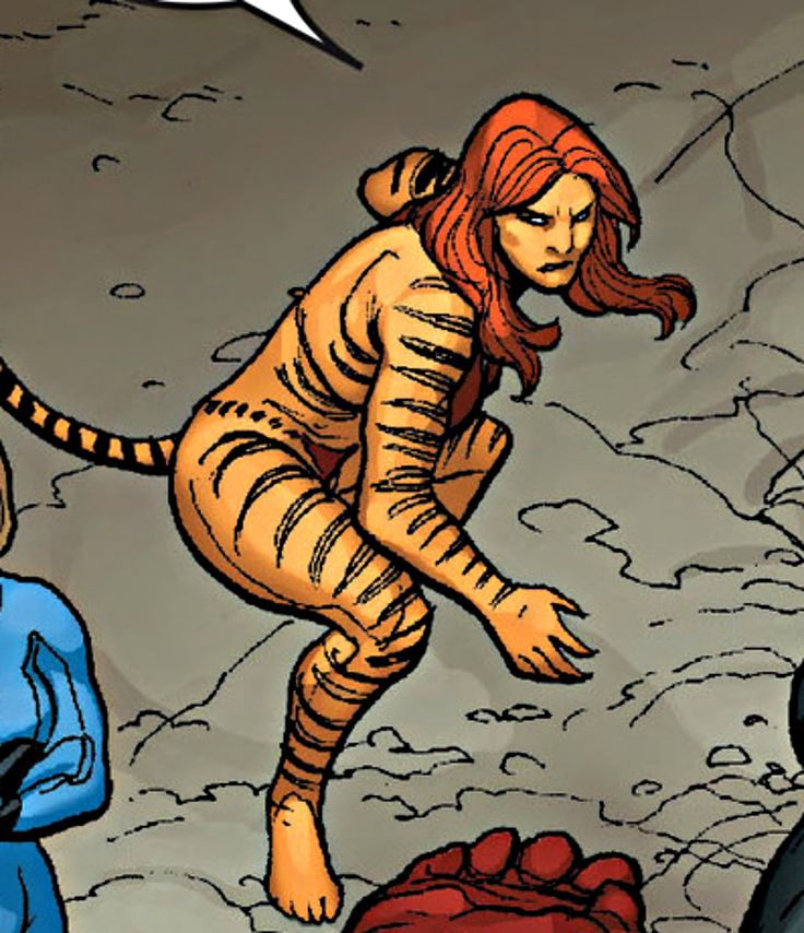 "Tigra  Marvel ""Hulk (2008) #9"""