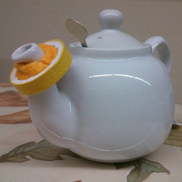 Siempre te la gotita de té en la mesa?  Atrapa gotas con forma de limón. #tetera #atrapa #atrapagotas #te #té #tealover #teapassion #teapot #taza #teacups #bebete #igers #igerbarcelona #igercatalunya #instate #instamoment #instantmoment #infusiones
