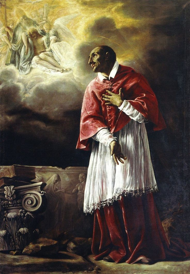 Orazio Borgianni, The Vision of Saint Charles Borromeo, c. 1611-2