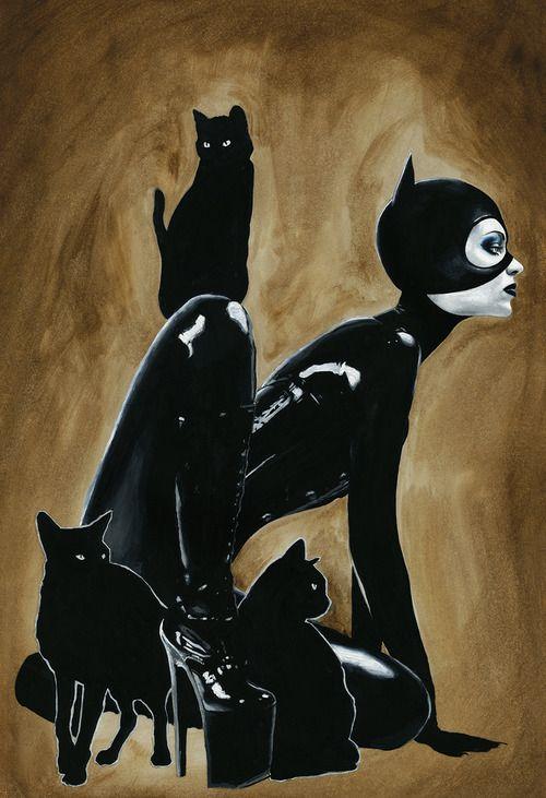 *Catwoman by Menton J. Matthews III More Comic Art @ http://groups.google.com/group/Comics-Strips & http://groups.yahoo.com/group/ComicsStrips &  http://www.facebook.com/ComicsFantasy & http://www.facebook.com/groups/ArtandStuff