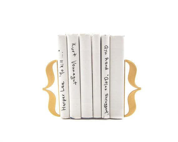 These beautiful bracket bookends are a great gift idea for book lovers.