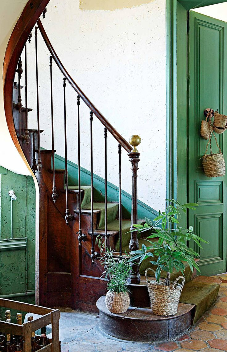 CLICK TO TOUR THIS Renovated French Chateau For Green + Plant Lovers
