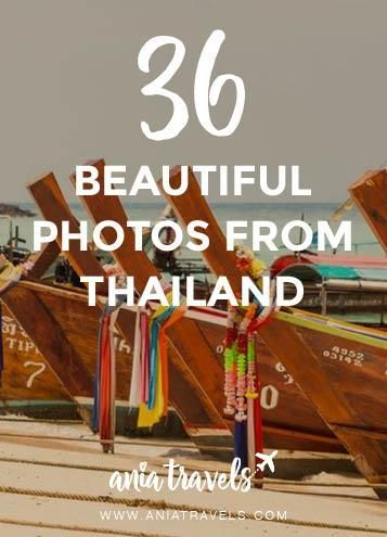 Thailand is one of those places so amazing will make you want to book a plane ticket right now. Here's a 36 beautiful photos from my Thailand trip.