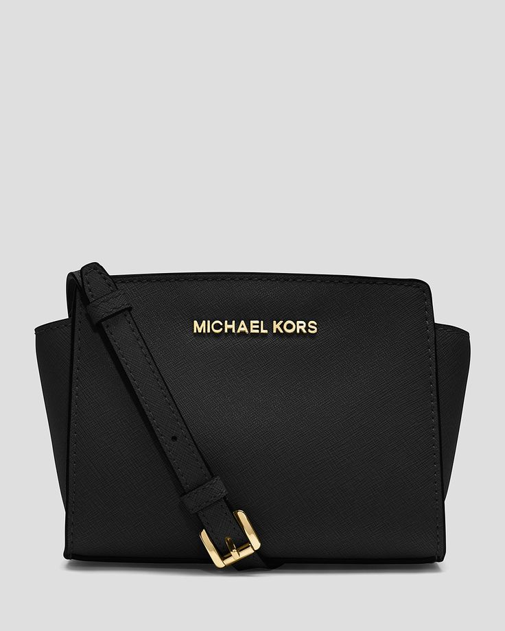 MICHAEL Michael Kors Crossbody - Mini Selma | Bloomingdale's - Just bought one for my mom, and now I want one too. Lol