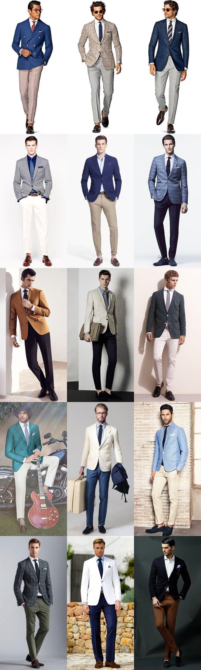 Men's Summer Weddings Smart-Casual Separates Outfit Inspiration Lookbook #MenSummerFashion