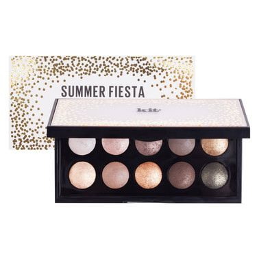 Kit Cosmetics Create the perfect day look for a summer fiesta with these 10 specially selected collection of baked eye shadows to contour and define your eyes.